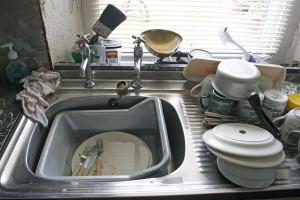 mycie naczyń